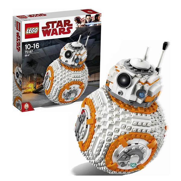 Купить Lego Star Wars 75187 Лего Звездные Войны ВВ-8, Конструктор LEGO