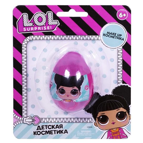 Косметика для девочек Corpa LOL5105 Детская декоративная косметика LOL в маленьком яйце на блистере фото