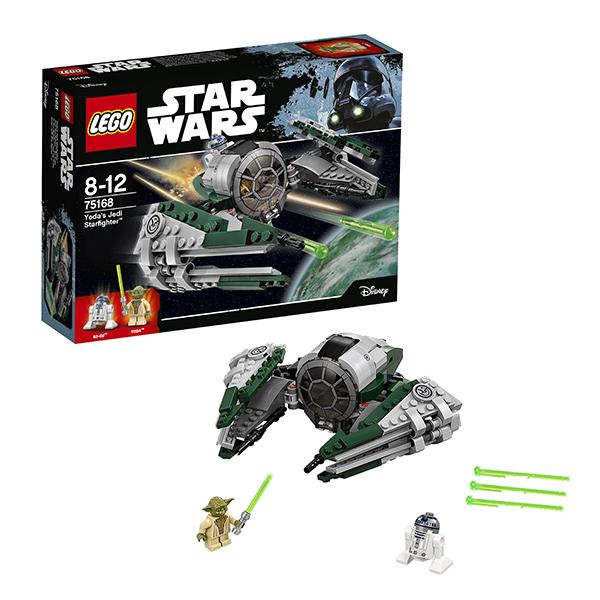 Купить Lego Star Wars 75168 Лего Звездные Войны Звёздный истребитель Йоды, Конструктор LEGO