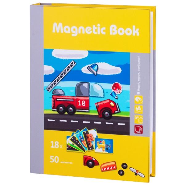 Купить Magnetic Book TAV035 Развивающая игра Юный инженер , 68 деталей, Настольные игры Magnetic Book