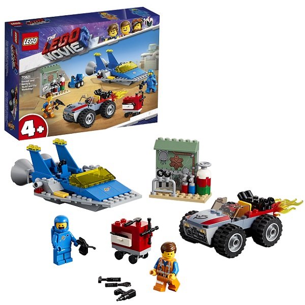 Купить LEGO Movie 2 70821 Конструктор ЛЕГО Фильм 2 Мастерская Строим и чиним Эммета и Бенни!, Конструкторы LEGO