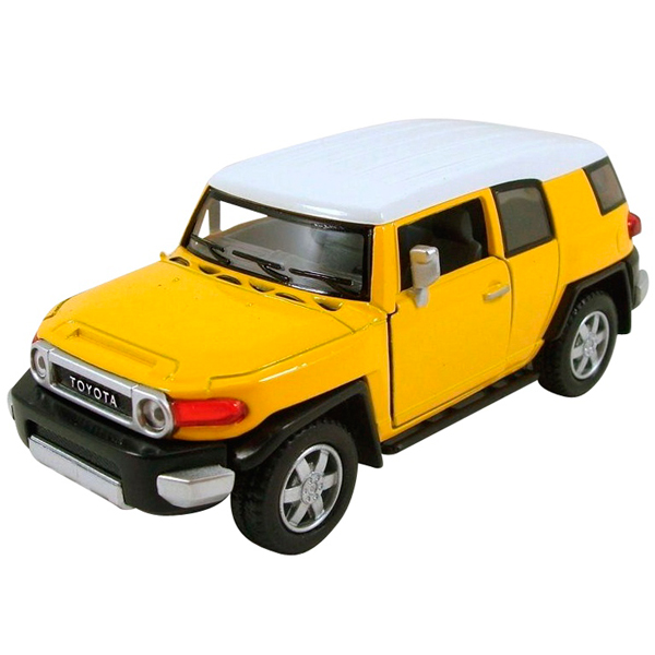 Купить Welly 43639 Велли Модель машины 1:34-39 Toyota FJ Cruiser, Машинка инерционная Welly
