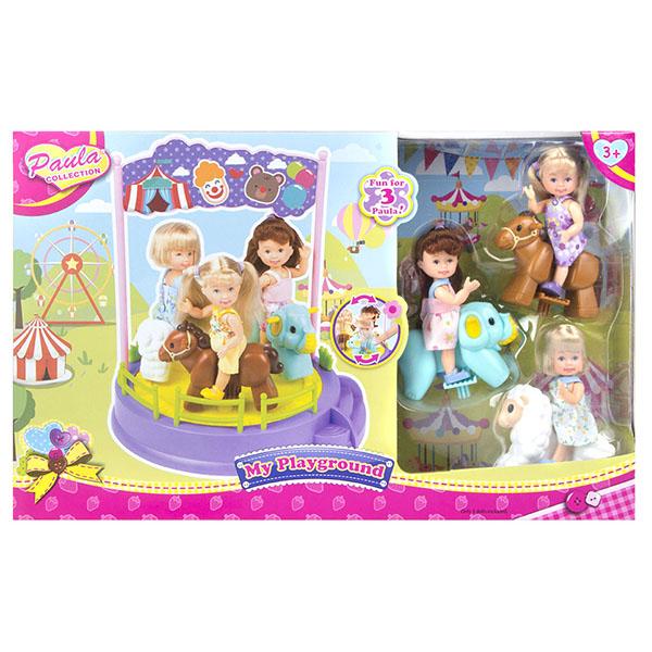 Купить Paula MC23014 Игровой набор Карусель , Игровые наборы и фигурки для детей Paula