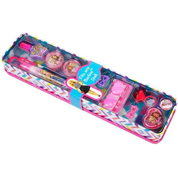 Markwins 9803451 Barbie Игровой набор детской декоративной косметики в пенале откр. - Косметика и аксессуары