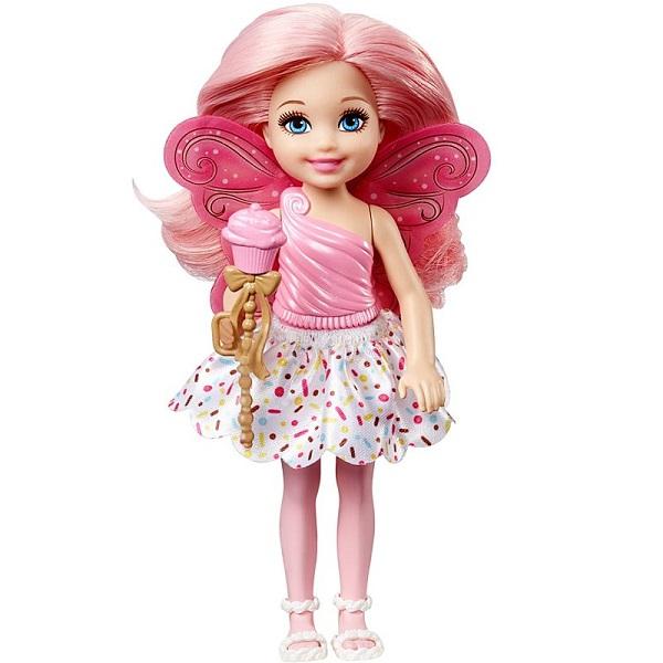 Mattel Barbie DVM88 Барби Маленькая фея Челси Капкейк