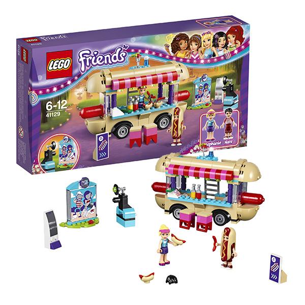 Lego Friends 41129 Конструктор Лего Подружки Парк развлечений: фургон с хот-догами