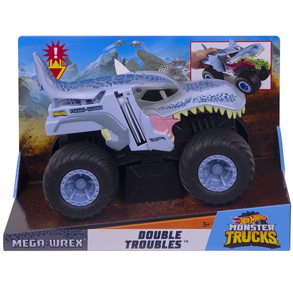 Купить Mattel Hot Wheels GCG08 Хот Вилс Монстр трак Трансформеры MEGA WREX, Игрушечные машинки и техника Mattel Hot Wheels