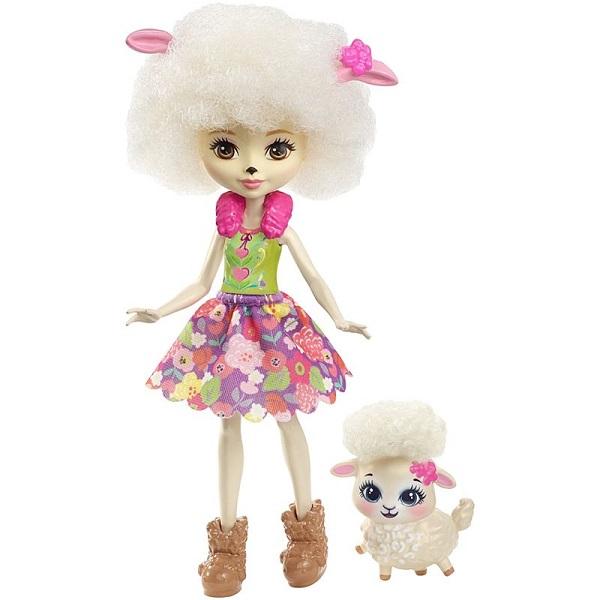 Купить Mattel Enchantimals FNH25 Кукла с питомцем - Овечка, Куклы и пупсы Mattel Enchantimals