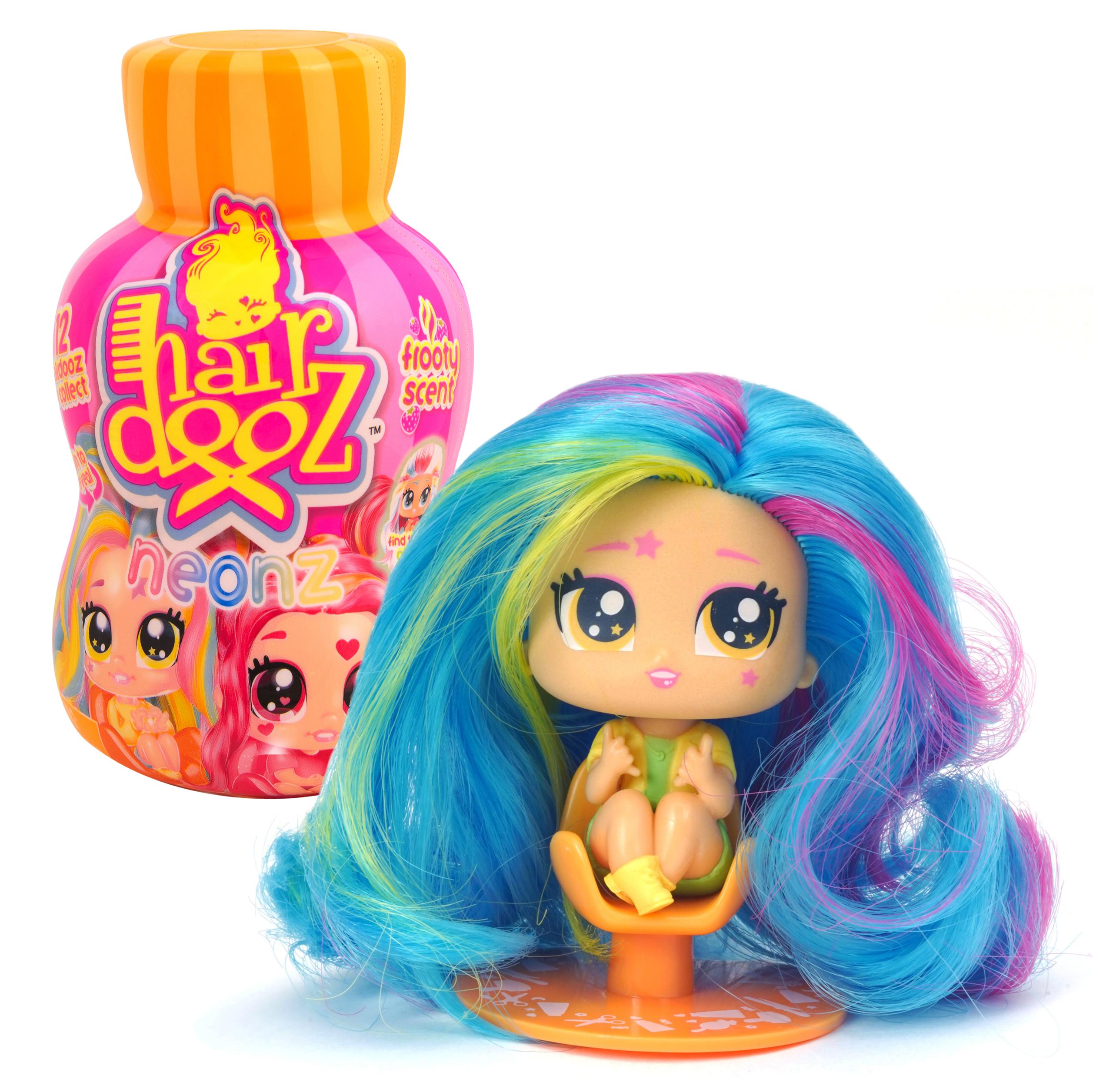 Купить Hairdooz 37305 Хэардуз Игровой набор Куколка Неон в парикмахерской с аксессуарами (в ассортименте), Игровые наборы и фигурки для детей Hairdooz