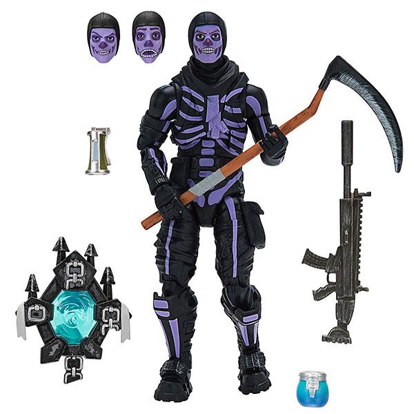 Купить Fortnite FNT0065 Фигурка Skull Trooper с аксессуарами, Игровые наборы и фигурки для детей Fortnite