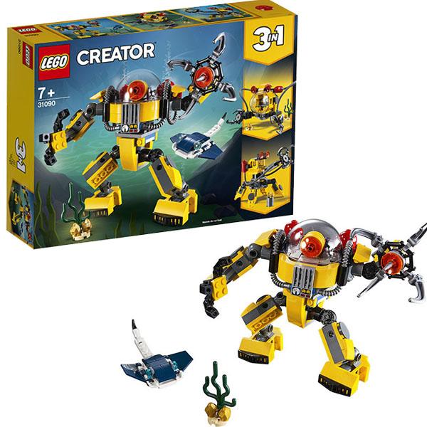 Купить LEGO Creator 31090 Конструктор ЛЕГО Криэйтор Робот для подводных исследований, Конструктор LEGO