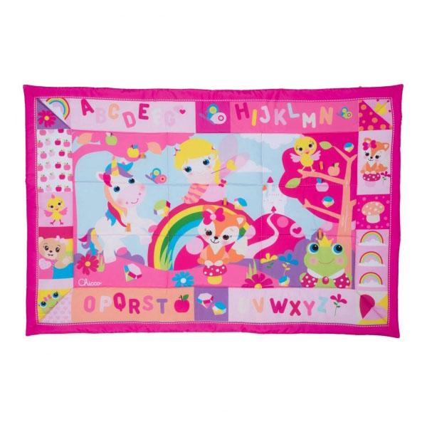Купить CHICCO TOYS 79451AR Игровой коврик XXL Лесные друзья (розовый), Коврик CHICCO TOYS