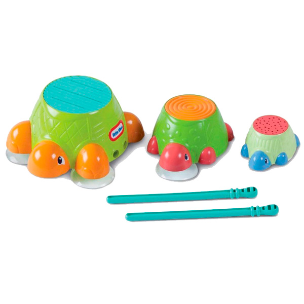 Игрушка для малышей Little Tikes 632266 Литл Тайкс Черепашки-барабаны