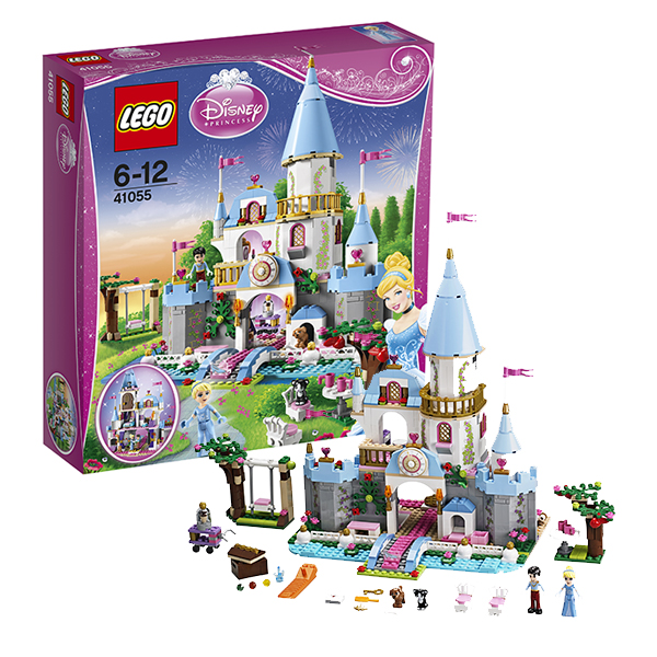 Lego Disney Princess 41055 Лего Принцессы Дисней Золушка на балу в Королевском Замке