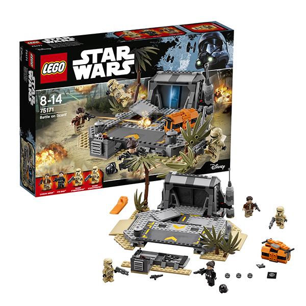 Lego Star Wars 75171 Конструктор Лего Звездные Войны Битва на Скарифе, арт:145343 - Звездные войны, Конструкторы LEGO