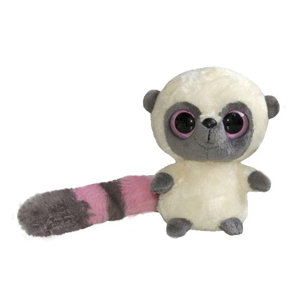 Купить Юху и его друзья 65-100 Лемур Юху, 12 см, Мягкая игрушка Aurora