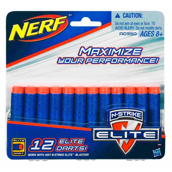 Купить Hasbro Nerf A0350 Нерф Комплект 12 стрел для бластеров, Игрушечное оружие Hasbro Nerf