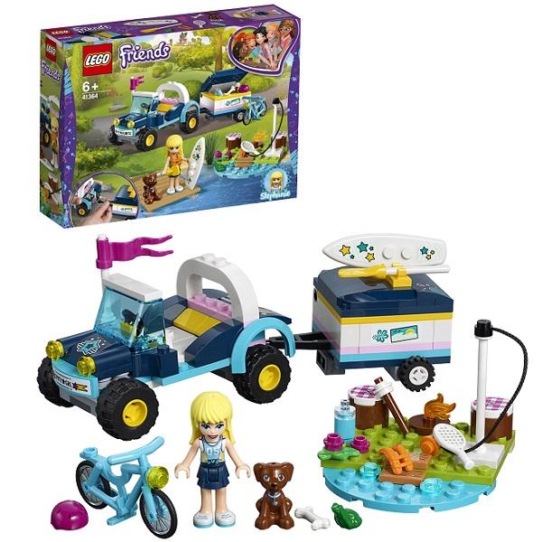 Купить LEGO Friends 41364 Конструктор ЛЕГО Подружки Багги с прицепом Стефани, Конструкторы LEGO
