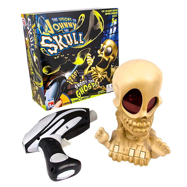 Купить Johnny the Skull 0669 Проектор Джонни Череп с бластером, Интерактивная игрушка Johnny the Skull