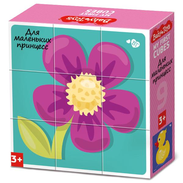 Купить BABY TOYS TD03534 Кубики Для маленьких принцесс , 9 шт, Развивающие игрушки для малышей Десятое Королевство