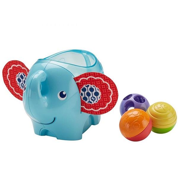 Купить Mattel Fisher-Price DYW57 Фишер-Прайс Слоник с шариками , Развивающие игрушки для малышей Mattel Fisher-Price