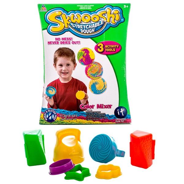 Skwooshi S30008 Сквуши Набор для смешивания цветов  масса для лепки и аксессуары