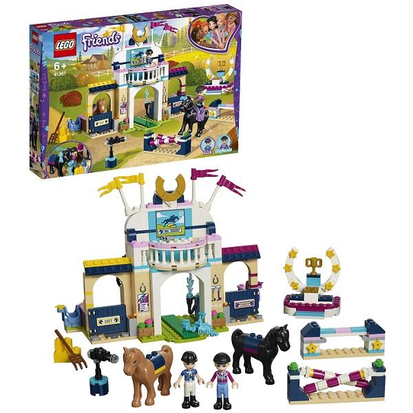 Конструкторы LEGO — LEGO Friends 41367 Конструктор ЛЕГО Подружки Соревнования по конкуру