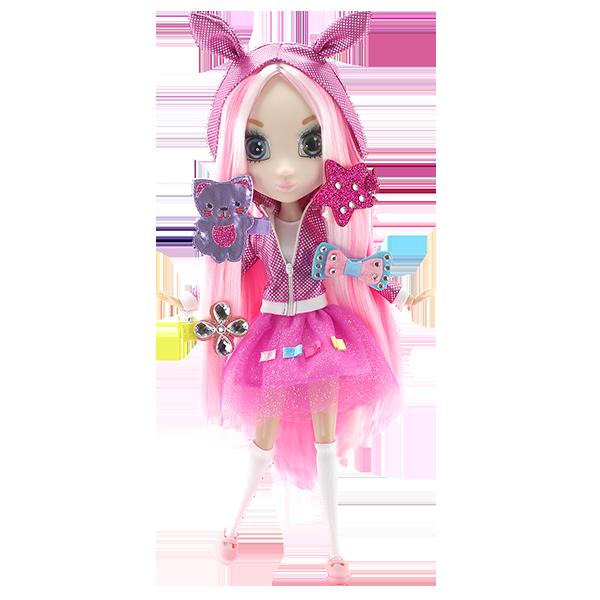 Купить Shibajuku Girls HUN6622 Кукла Шидзуки, 33 см, Кукла Shibajuku GIRLS
