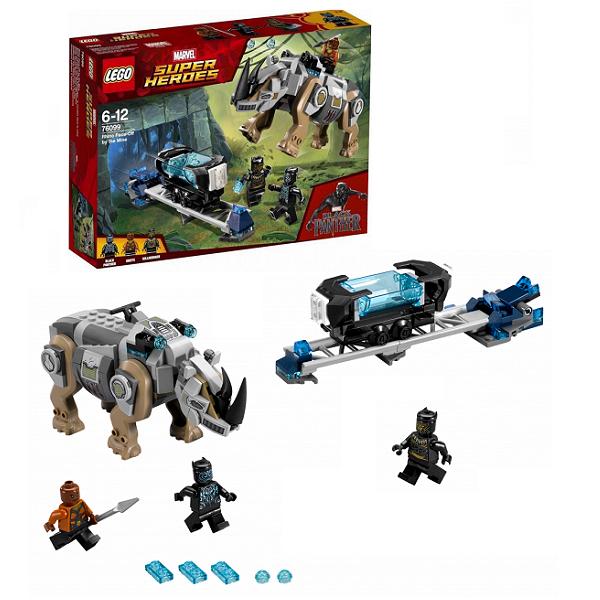Lego Super Heroes 76099 Лего Супер Герои Поединок с Носорогом, Конструкторы LEGO  - купить со скидкой