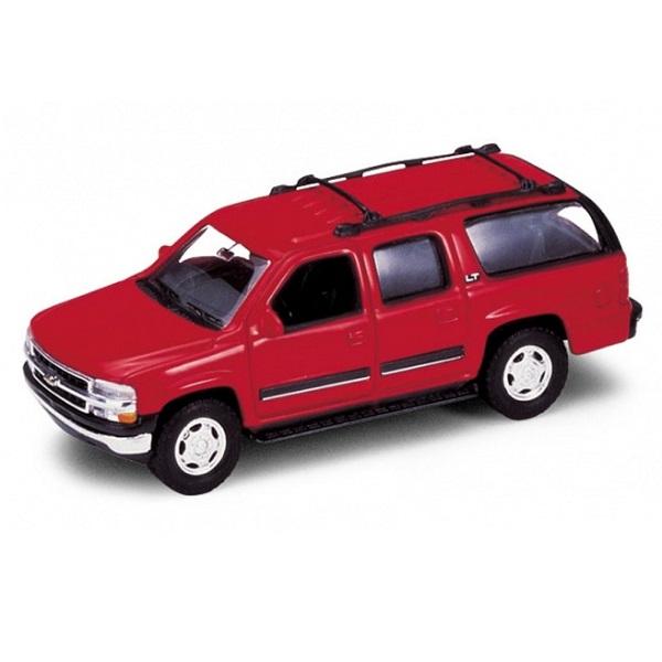 Купить Welly 42312 Велли Модель машины 1:34-39 2001 CHEVROLET SUBURBAN, Машинка инерционная Welly