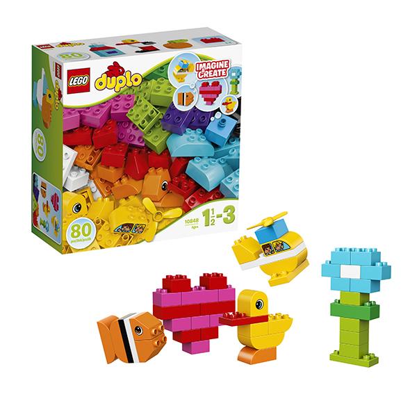 Купить LEGO DUPLO 10848 Конструктор ЛЕГО ДУПЛО Мои первые кубики, Конструктор LEGO