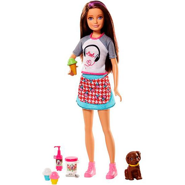 Купить Mattel Barbie FHP62 Барби Сестры и щенки, Кукла Mattel Barbie
