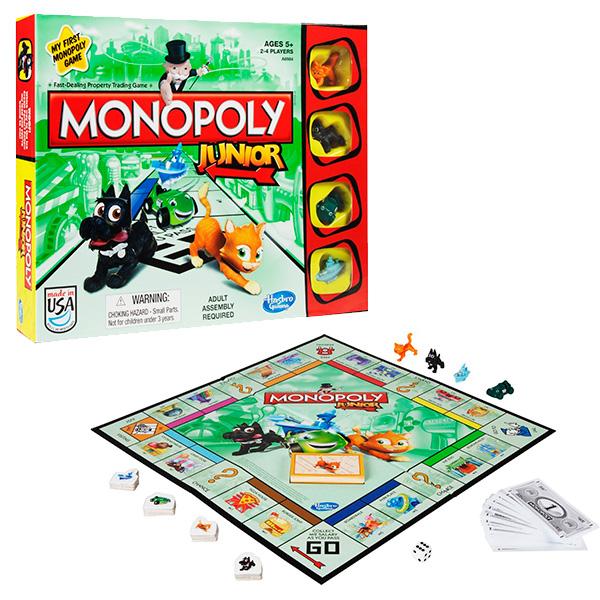 Купить Hasbro Monopoly A6984 Настольная игра Моя первая Монополия, Настольная игра Hasbro Monopoly