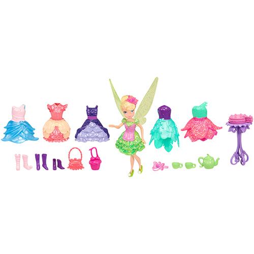"""Disney Fairies 817720 Дисней Фея 11 см., игровой набор """"Чаепитие"""" (кукла с аксессуарами)"""