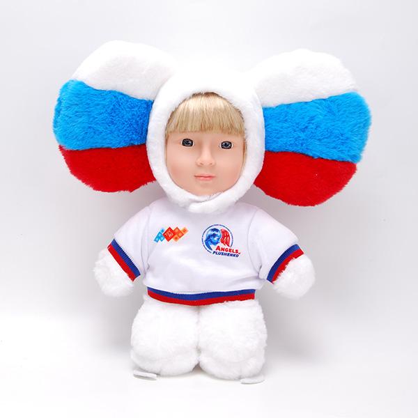 Куклы и пупсы Чебусашка Чебусашка SK02 Игрушка мягконабивная с элементами из пластмассы по цене 499