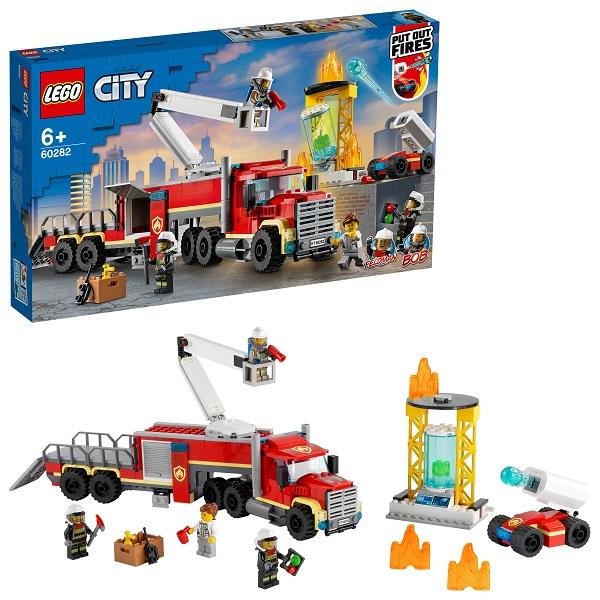 LEGO City 60282 Конструктор ЛЕГО Город Команда пожарных по цене 4 499
