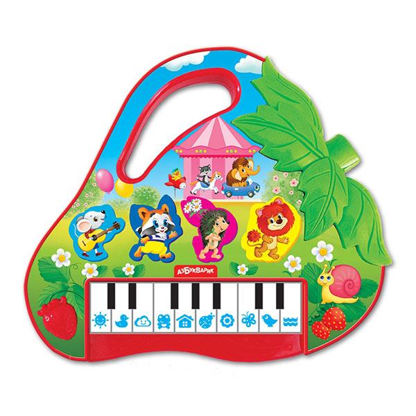 Купить Азбукварик 1992 Пианино Клубничка , Музыкальная игрушка Азбукварик