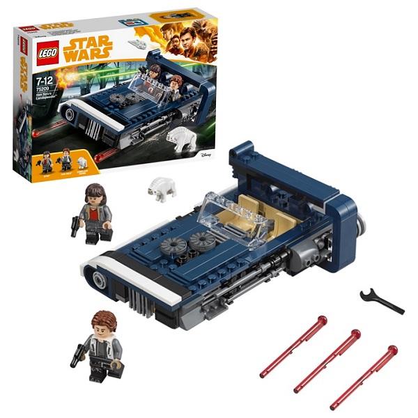 Купить Lego Star Wars 75209 Конструктор Лего Звездные Войны Спидер Хана Cоло, Конструкторы LEGO