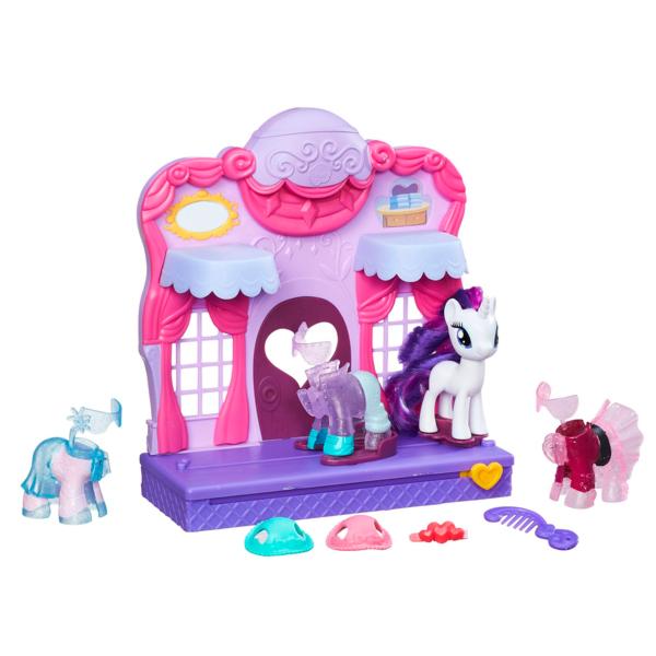 Купить Hasbro My Little Pony B8811 Май Литл Пони Бутик Рарити в Кантерлоте, Игровой набор Hasbro My Little Pony