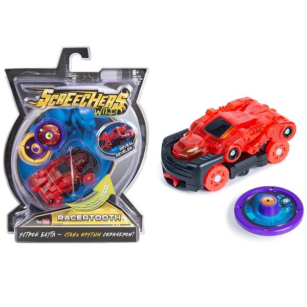 Screechers Wild 35884 Дикие Скричеры Машинка-трансформер Рейсертус л1 - Транспорт