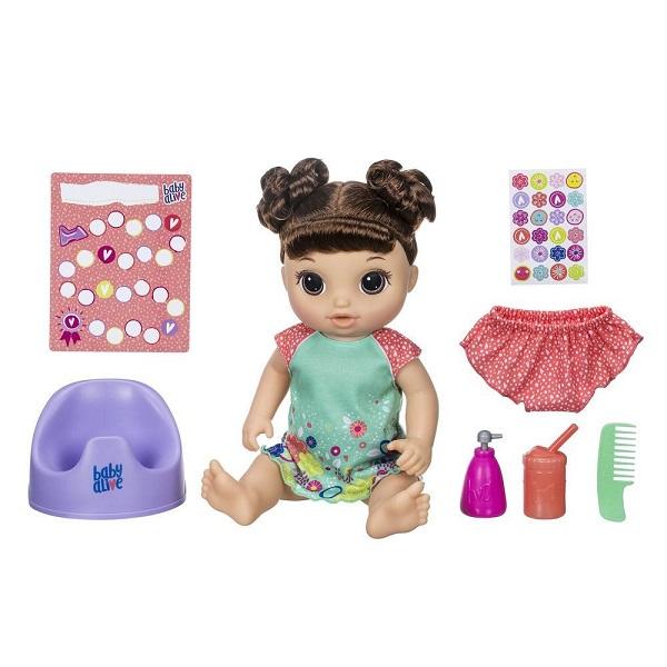 Купить Hasbro Baby Alive E0610 Танцующая Малышка Шатенка, Куклы и пупсы Hasbro Baby Alive