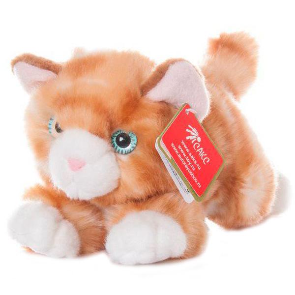 Aurora 300-02 Аврора Котенок рыжий, 28 см - Мягкие игрушки