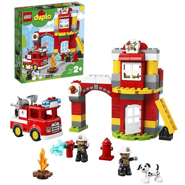 Купить Lego Duplo 10903 Конструктор Лего Дупло Пожарное депо, Конструкторы LEGO