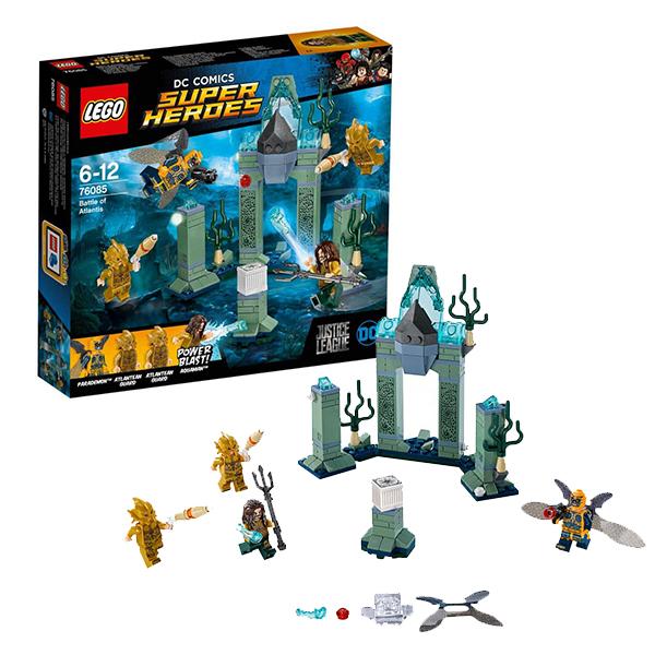 Купить LEGO Super Heroes 76085 Конструктор ЛЕГО Супер Герои Битва за Атлантиду, Конструктор LEGO
