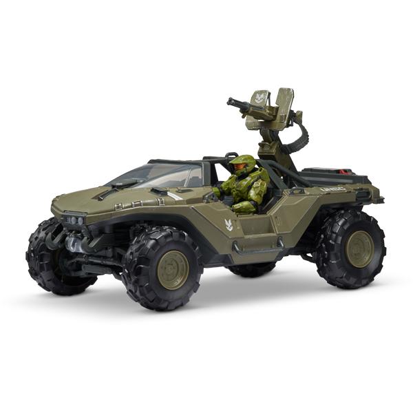 Купить HALO HLW0016 Фигурка героя Master Chief 3.75 с Warthog и аксессуарами