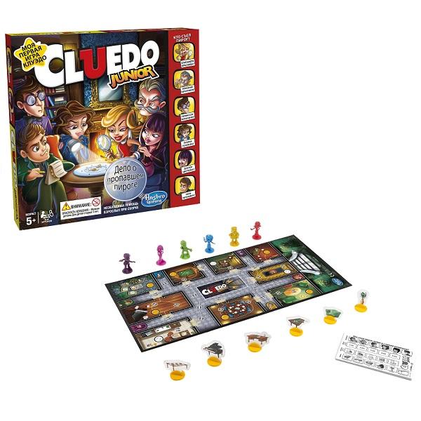 Купить Hasbro Other Games C1293 Настольная игра Клуэдо Джуниор, Настольные игры Hasbro Other Games