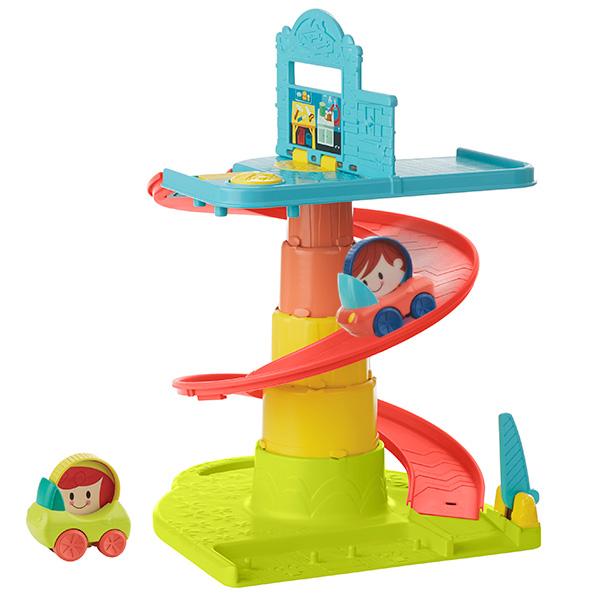 Hasbro Playskool B1649 Возьми с собой Веселый Гараж - Игрушки для малышей