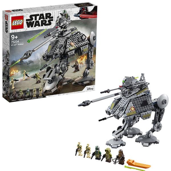 Купить LEGO Star Wars 75234 Конструктор ЛЕГО Звездные Войны Шагающий танк АТ-AP, Конструктор LEGO