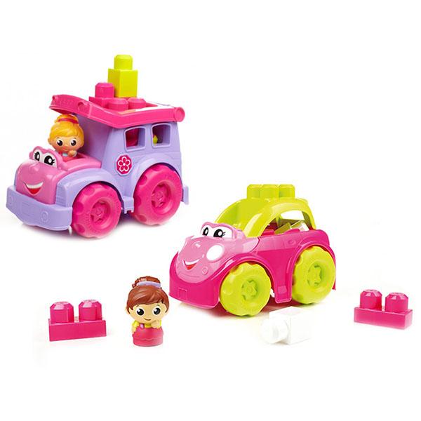 Mattel Mega Bloks CXP13 Мега Блокс Маленькие транспортные средства для девочек (в ассортименте)