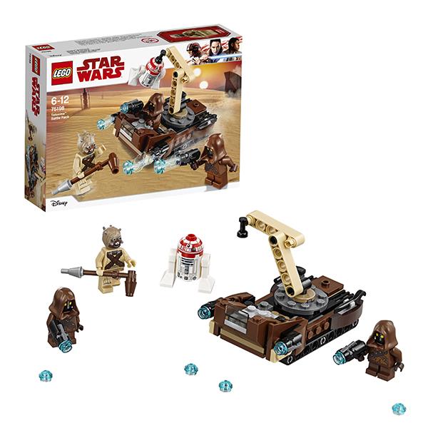 Купить Lego Star Wars 75198 Лего Звездные Войны Боевой набор планеты Татуин, Конструкторы LEGO